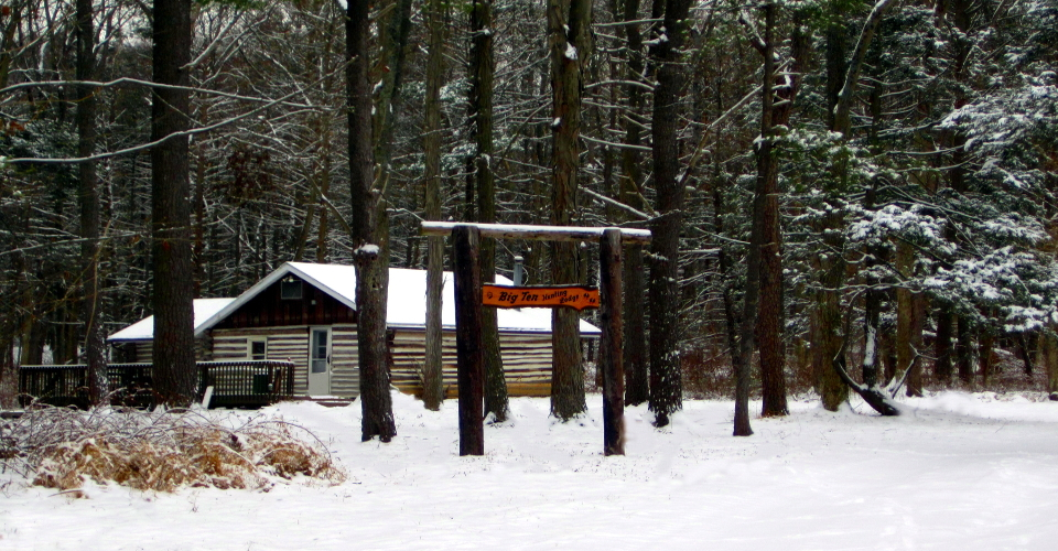 Cabin, retreat, Penn State weekends, log cabin, secluded, off-grid, woodland, hunting