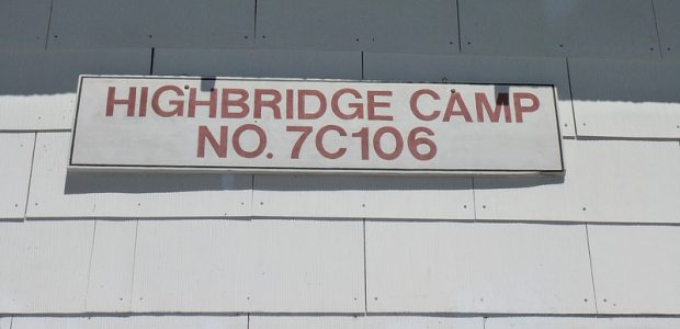 Highbridge Camp Sign